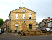 Woodstock, The Town Hall, Oxfordshire © P L Chadwick